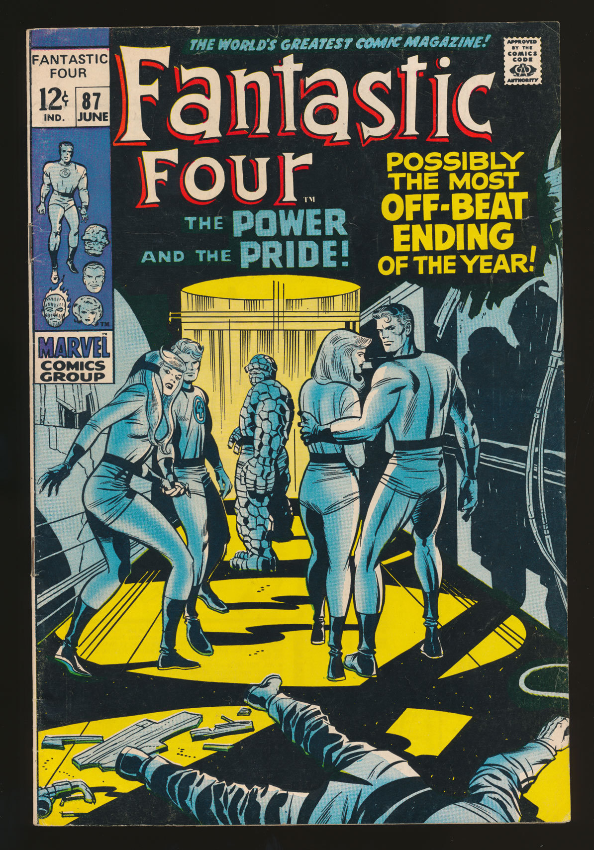 Fantastic Four #87(Jun. 1969)
