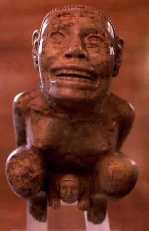 aztec goddess tlazolteotl giving birth