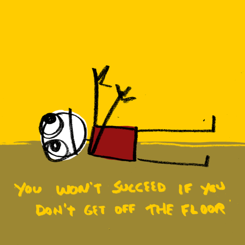 explodingdog:  get up