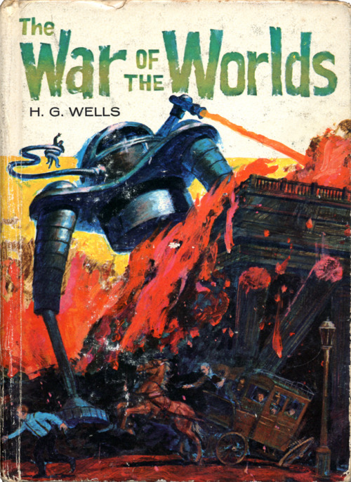 The War Of The Worlds by H.G. Wells Illustrated by Shannon Stirnweis • Whitman Publishing Company, 1954