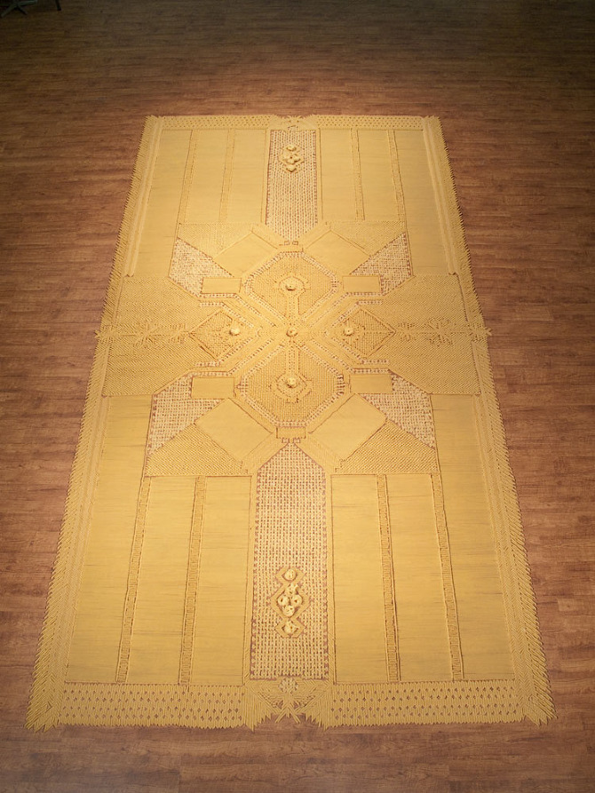 Pasta Carpet 2 by We Make Carpets.
