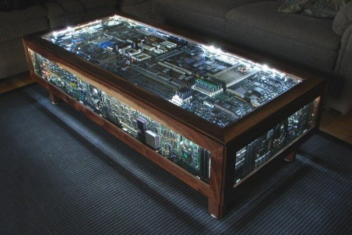 sophieag:  voyeurismisparticipation:  This is defs the coffee table for Future Home  It's glowing because it's the Holy Grail .. right guys … guys …