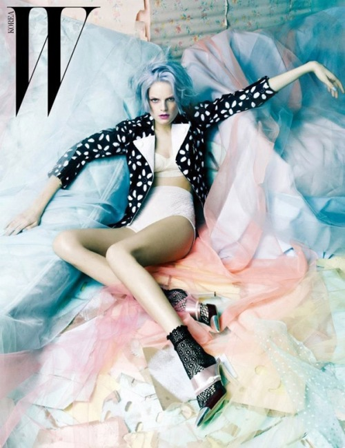 Jang Hyun Hong for W Korea March, 2012
