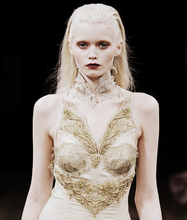 Abbey Lee Kershaw at Julien Macdonald Autumn/Winter 2011