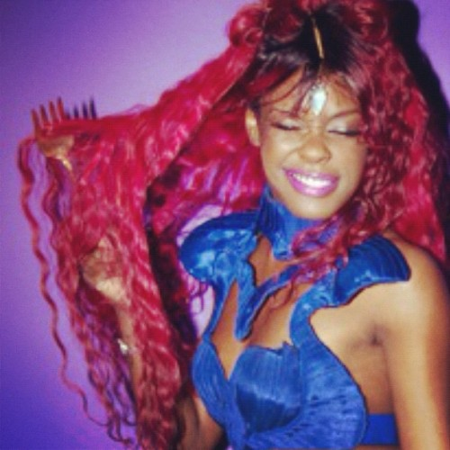 azealiabanks:  Mermaid Luv (Taken with instagram)