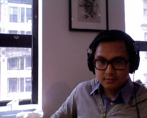 Whew. Back at TumblrHQ .. and new desk (no. 4)!! Amp'ed for this week.