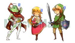 Skyward sword set I know there's Fi but I never really liked her or had no emotional attachment at all so bah!