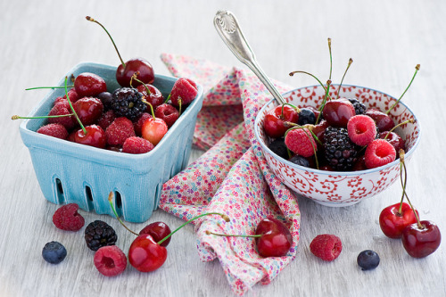 Summer Berries & Cherries