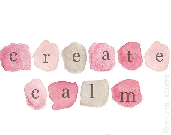 sayitwith-watercolor:  create calm