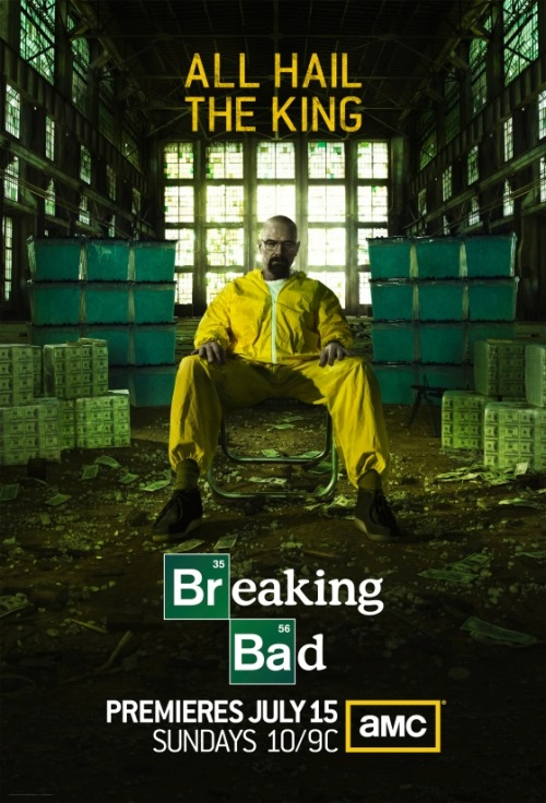 popculturebrain:  Poster: Breaking Bad Season 5 | Vulture  AMC is also starting a marathon this month, leading up to the start of the new season. Check out the schedule here.