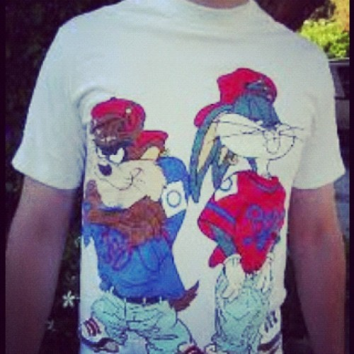 Remember these t-shirts back in the day?!!!! #throwback #fashion  (Taken with instagram)