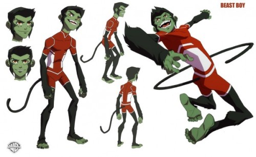 Check out these design turnarounds for YOUNG JUSTICE! Designs by Phil Bourassa and posted on the excellent Project: Roof Top