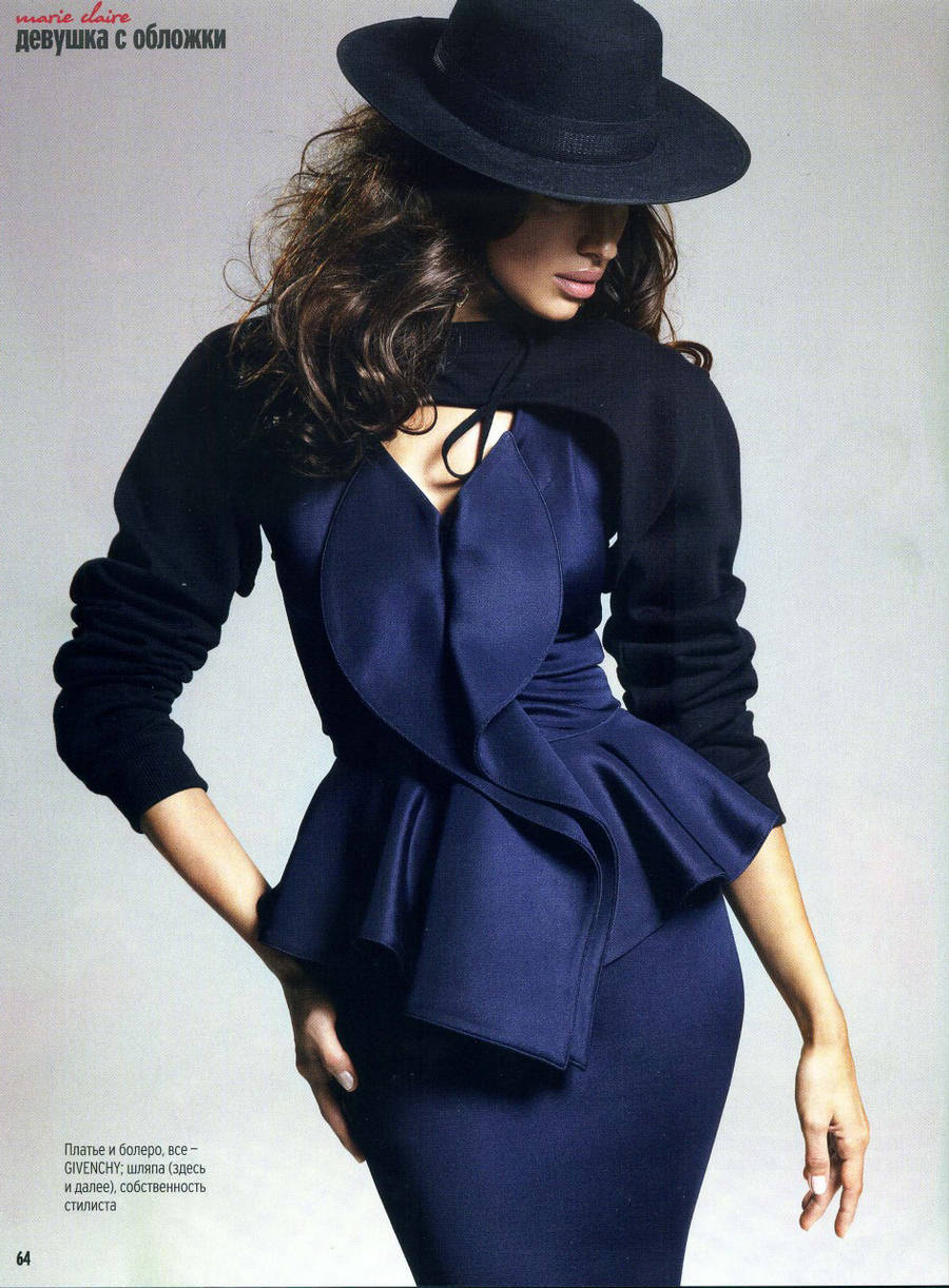 fashion-on-my-platter:  Irina Shayk Marie Claire Ukraine