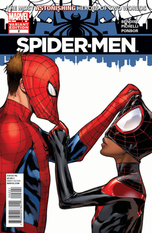 SPIDER-MEN #2 VARIANT by Pichelli