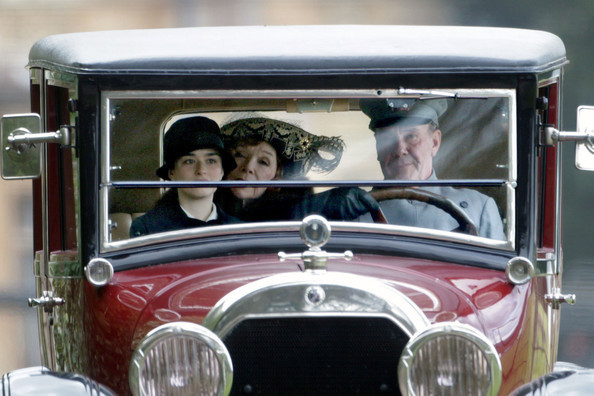 imwithkanye:  New details emerge about Shirley MacLaine's role on Downton Abbey. In an interview with TV Guide, she describes her new character, Martha Levinson, mother of Lady Cora:  She is from Long Island and finally lands at Downton Abbey and sees what's happening to the place when everyone's coming back from the war.  She does not share any scenes with Mr. Bates (Shirley's favorite character on the show) but does share screen time with Mr. Carson and of course, Dowager Countess (Maggie Smith). [image]  oooooooh, can't wait.