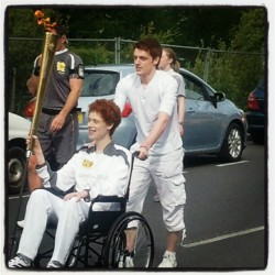 The Olympic torch passing through Ballykelly (Taken with Instagram at Ballykelly)