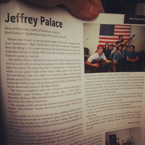 Dude, We're in Junes Issue of JUMP…  (Taken with instagram)