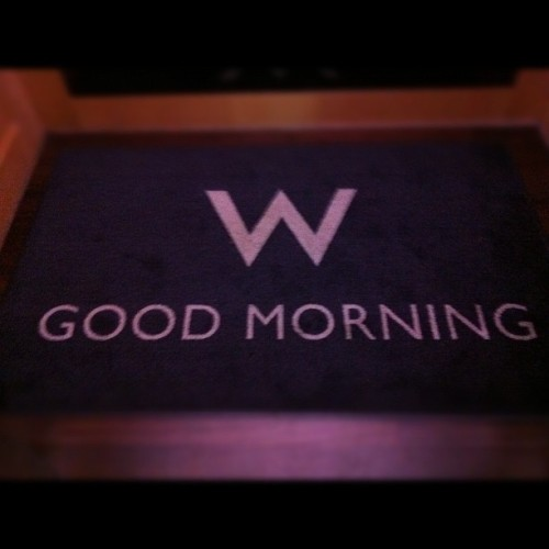 #Good Morning  (Taken with Instagram at W Los Angeles - Westwood)