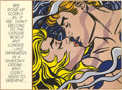 nevver:  Roy Lichtenstein, We Rose Up Slowly