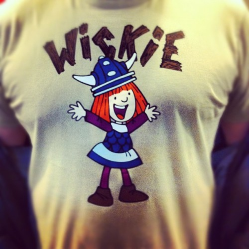 Wow! Best tshirt ever! #vickietheviking #wickie (Taken with instagram)
