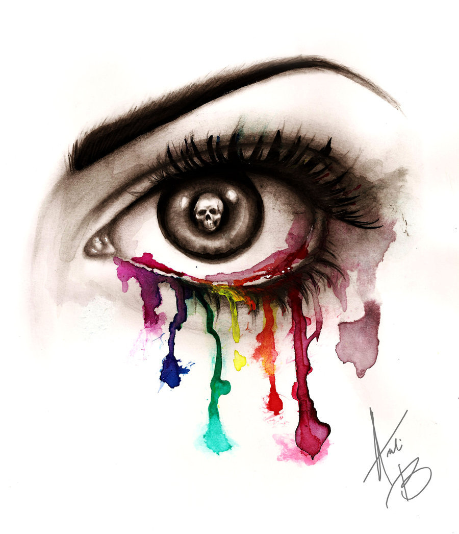 Beautiful Eye of Death by *BabyDollB