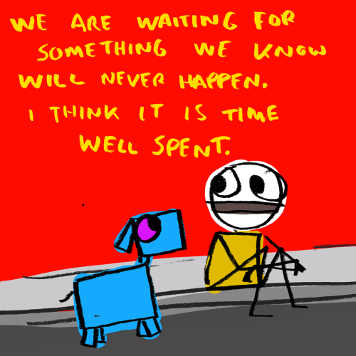 explodingdog:  waiting.