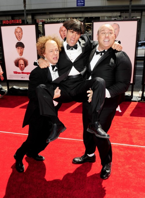 Are you ready for the new Three Stooges? I can't wait for the movie! Movie reviews