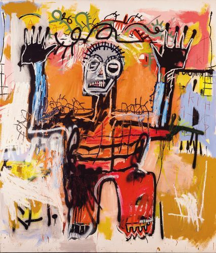 playanon:   A self-portrait by the late Jean-Michel Basquiat is expected to fetch $20 million in the June 27 Christie's International sale of postwar and contemporary art in London.  (via)
