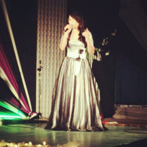 Voice recital 2012 (Taken with instagram)