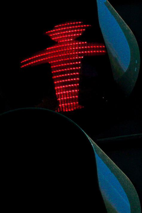 """ The little traffic light man ""  ( The Ampelmannchen )"