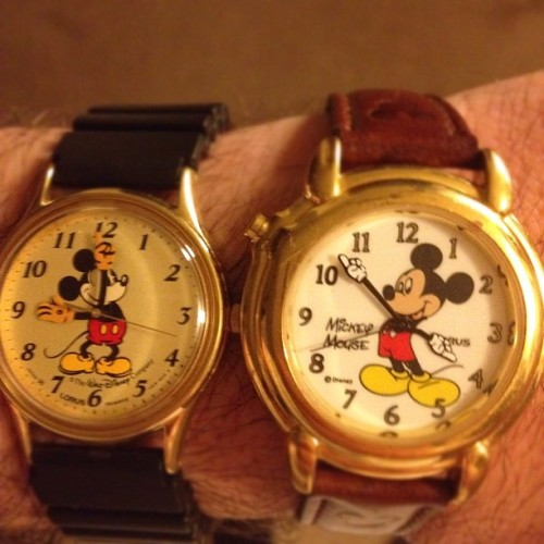 Mickey Mouse swag (Taken with instagram)