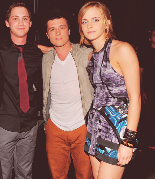 peenissexual:  Logan, Josh and Emma