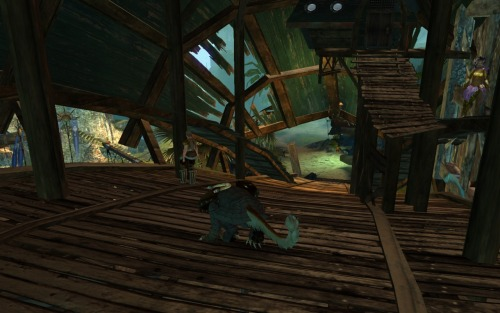Inside the bridge in Lion's Arch.