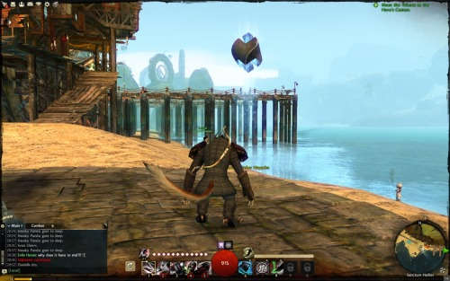 Docks in the distance @ Lion's Arch.