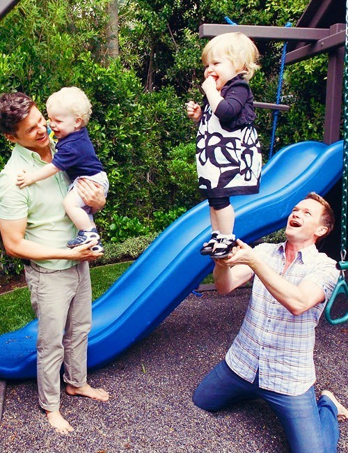 """Gay people can't raise children"". Say again?"