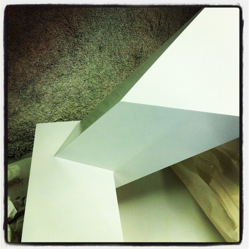 Fallen in love with the object I'm making. #degreeshow2012 (Taken with instagram)