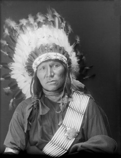 Bear Shield, Oglala  -  1910