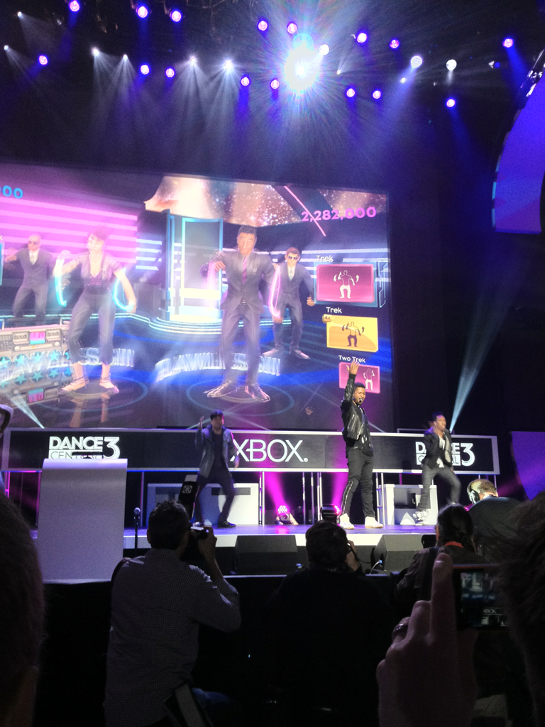 So I just saw Usher at the Xbox E3 Conference.  Yeah. This is awesome.
