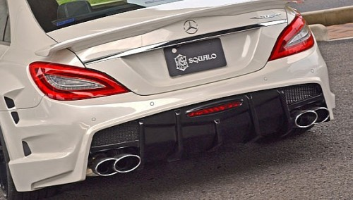 VITT Mercedes CLS Tuned Aggressively.