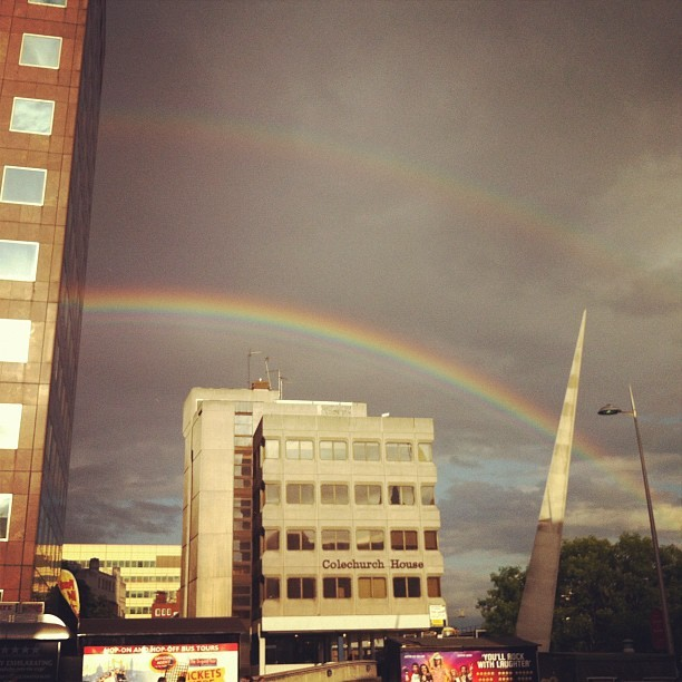 London rainbow (Taken with instagram)