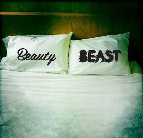 #Beauty & the #Beast, #design pillows  Blogged by www.markkarwowski.co.uk