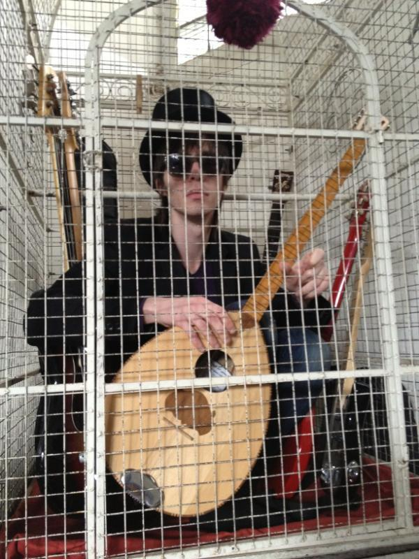 """Gone all birdcage"" from Joe's Twitter"