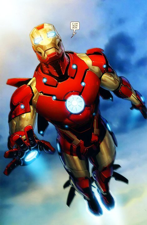 One of the best Iron-Man pieces I've seen. Nice!