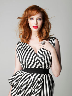 Christina Hendricks—classy & curvy at the same time. Interview with Christina Hendricks about her style sense: http://www.marieclaire.com/celebrity-lifestyle/celebrities/mad-men-christina-hendricks-interview MC: What would you say to women who want to minimize their curves?CH: Instead of trying to downplay your curves, find a designer or style that glorifies them. There are designers who simply don't design for people with shape and there are those — like L'Wren Scott or Roland Mouret — who do exactly that. Once you find what looks best on you, stick with it.