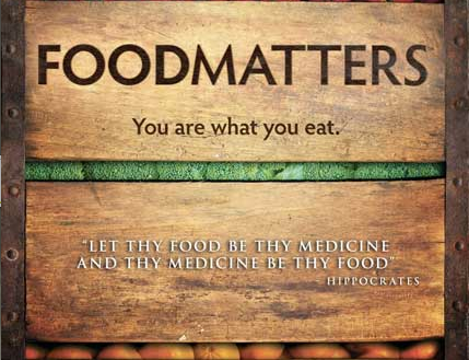 Wellness film to watch: Food Matters takes a closer look at the fundamental problems we face in our current healthcare system. View more wellness ideas in our Wellness Cafe.