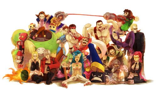 Marvel vs Capcom 3 - Capcom side.