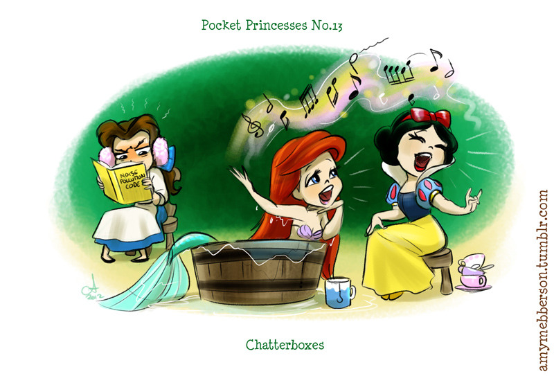 nicolesab:  Pocket Princesses :) These make me so happy! They can all be found here.
