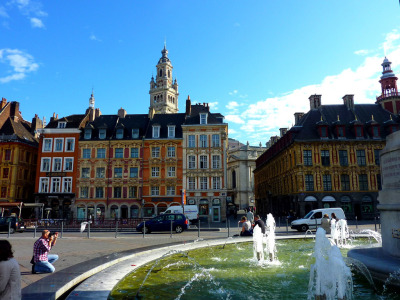 Grand'Place. (by nic( o ))  Lille, France
