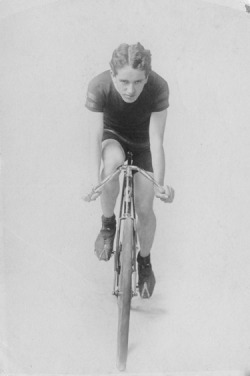 Stewart Reed Brown on his bicycle. Brown was a member of Lake View Cycling Club racing team and editor of the club's magazine, Dash, c. 1890. Photographer unknown. Want a copy of this photo?  > Visit our Rights and Reproductions Department and give them this number: ICHi-65723. Connect with the Museum