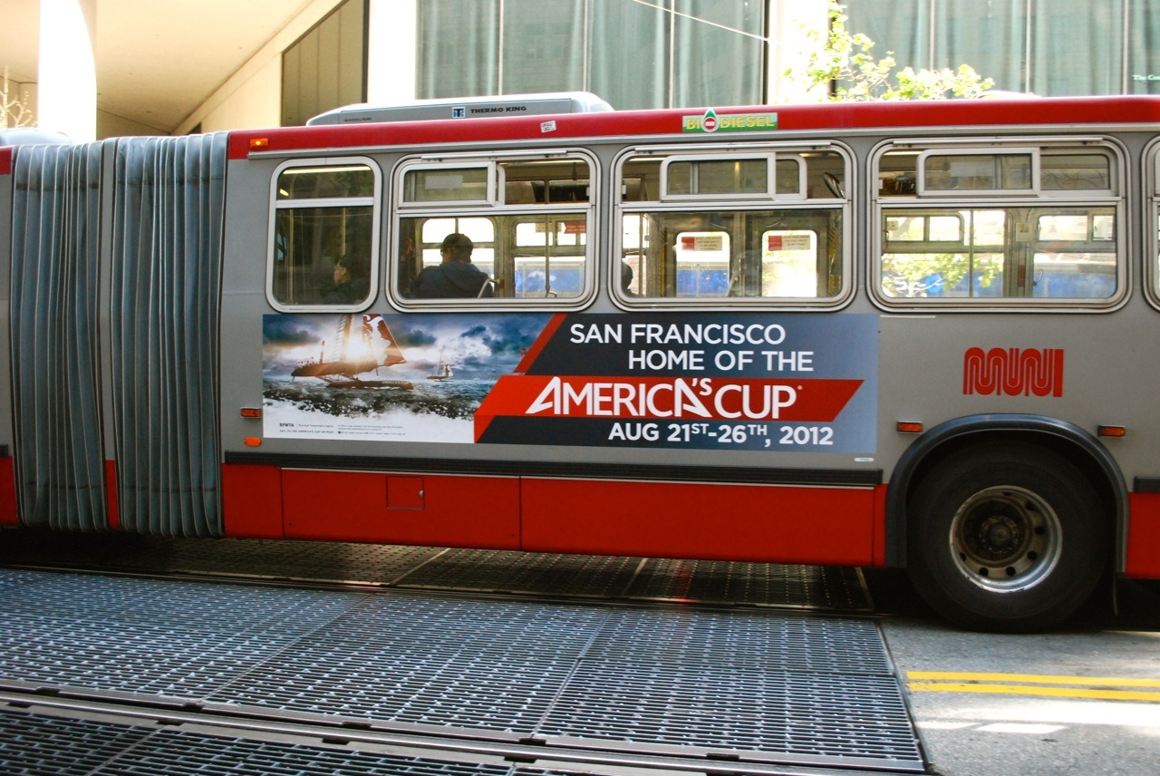 SF Muni can't wait for the America's Cup World Series to come to San Francisco in August (and October too!)